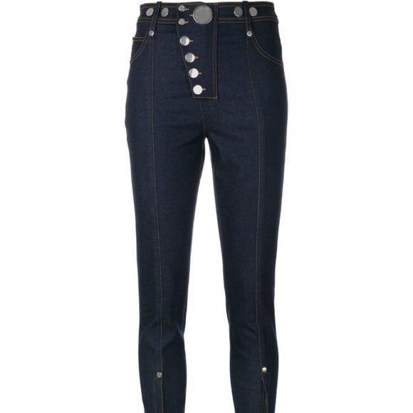 biggest selection wholesale price hot sale Alexander Wang high waist denim pants NWT